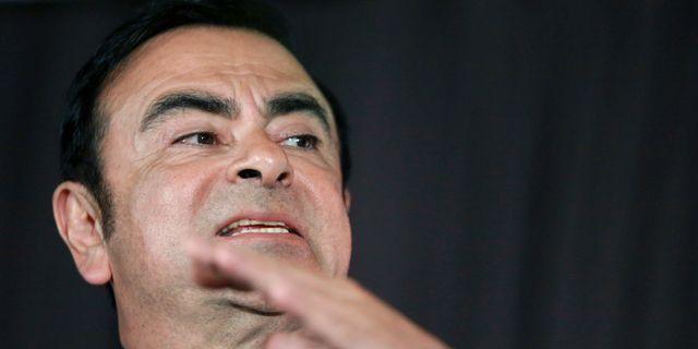 Carlos Ghosn, vd Renault. Eugene Hoshiko / TT NYHETSBYRÅN