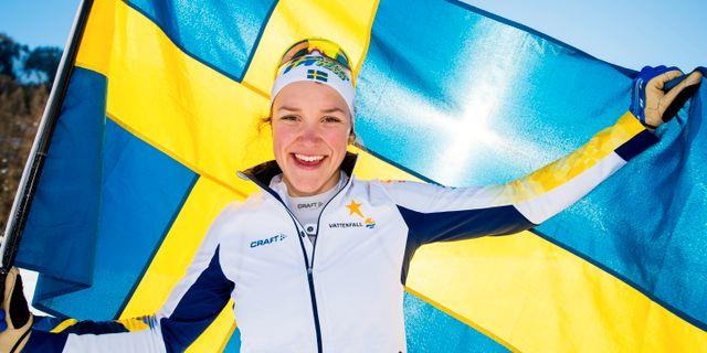 Moa Lundgren.  VEGARD WIVESTAD GR¯TT / BILDBYR N NORWAY