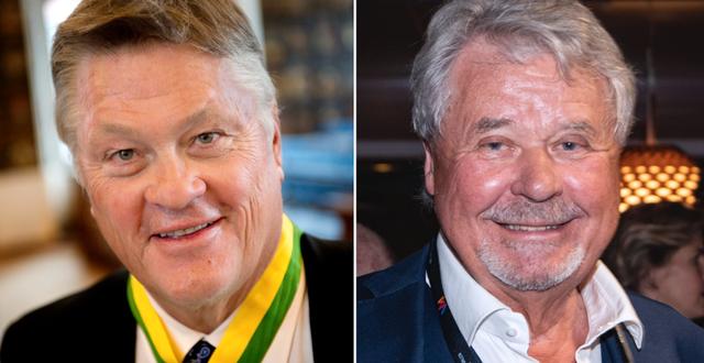 Dan Olofsson och Percy Nilsson. TT