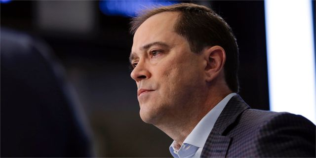 Chuck Robbins, vd för Cisco. Richard Drew/AP
