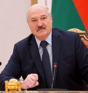 Belarus president Aleksandr Lukasjenko. Sergei Shelega / TT NYHETSBYRÅN