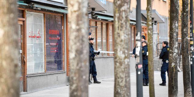 Två män hittades döda i Sätra i torsdags. Arkivbild. Henrik Montgomery/TT / TT NYHETSBYRÅN