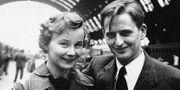 Lisbeth och Olof Palme. TT