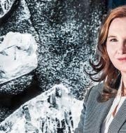 Eira Thomas, grundare och vd på diamantbolaget Lucara Diamond. Tomas Oneborg/SvD/TT / TT NYHETSBYRÅN