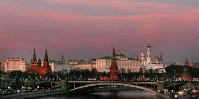 Kreml i Moskva, Ryssland.  Mikhail Metzel / TT / NTB Scanpix