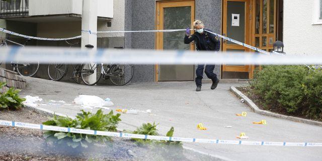 Svenskans mordare fortfarande pa fri fot