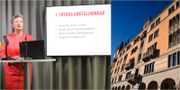 Arbetsmarknadsminister Ylva Johansson/Regeringskansliet TT