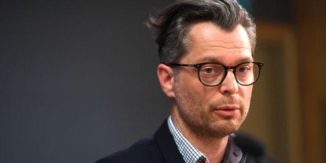 Jan Evensson, chef för den regionala utredningsenheten.  Fredrik Sandberg/TT / TT NYHETSBYRÅN