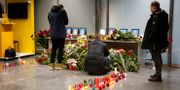 En minnesplats för de ukrainska offren i Kiev. Efrem Lukatsky / TT NYHETSBYRÅN