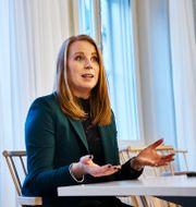 Annie Lööf.  Simon Rehnström/SvD/TT / TT NYHETSBYRÅN