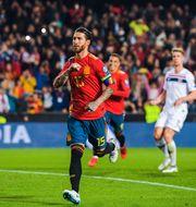 Sergio Ramos firar sitt mål. VEGARD WIVESTAD GRØTT / BILDBYRÅN NORWAY