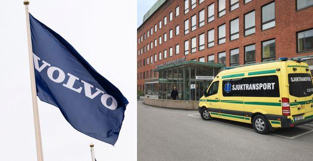 Arkivbilder. Sahlgrenska sjukhuset i Göteborg. TT