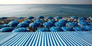 Stranden i Nice. Arkivfoto. Lionel Cironneau / SCANPIX