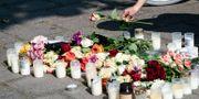 Den mördade kvinnan hedras i Malmö. Johan Nilsson/TT / TT NYHETSBYRÅN