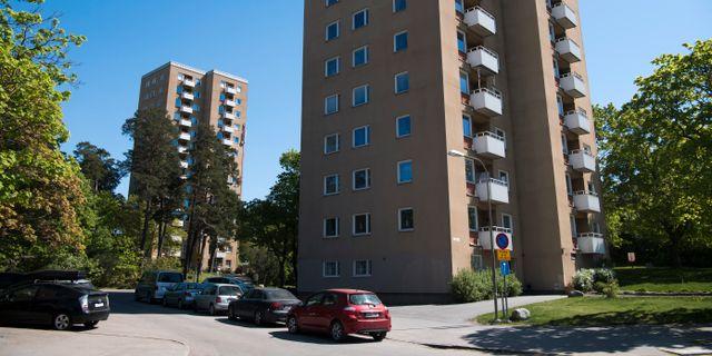 Bild från Hässelby gård, förort till Stockholm. Henrik Montgomery/TT / TT NYHETSBYRÅN