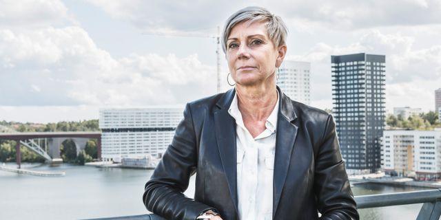 Liza Nyberg, vd för Svensk Fastighetsförmedling. Veronica Johansson/SvD/TT / TT NYHETSBYRÅN