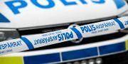 Polisen larmades till platsen via ett telefonsamtal. Johan Nilsson/TT