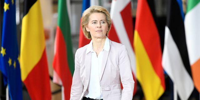 Ursula von der Leyen Piroschka Van De Wouw / TT NYHETSBYRÅN