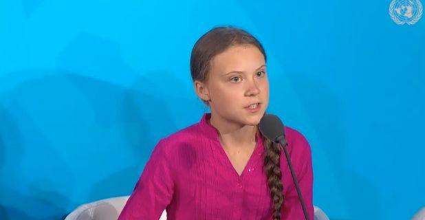 Greta Thunberg. FN