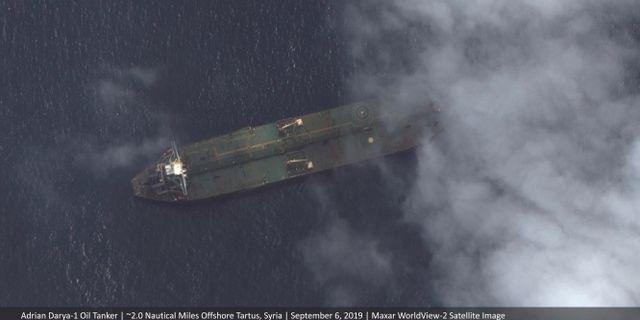 Satellitbilder av Adrian Darya-1 AP/ TT NYHETSBYRÅN