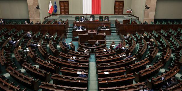 Polens parlament. AGENCJA GAZETA / TT NYHETSBYRÅN