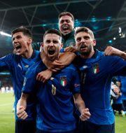 Italien jublar. CARL RECINE / BILDBYRÅN