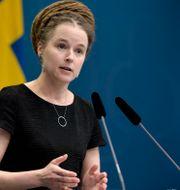 Amanda Lind (MP). Pontus Lundahl/TT / TT NYHETSBYRÅN