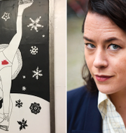 """Liv Strömquists """"The Night Garden"""" ställs ut på Slussens t-banestation.  Ines Micanovic, Omni / TT"""