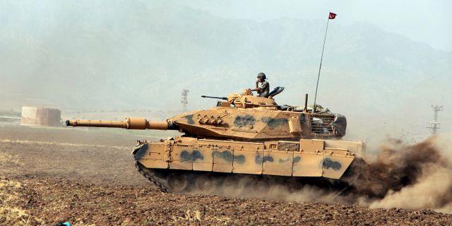 Arkivbild. Turkiskt stridsfordon. TT / NTB Scanpix