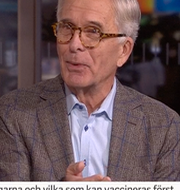 Johan Brun i Morgonstudion SVT