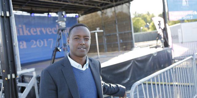 Ahmed Abdirahman, grundare av Järvaveckan Christine Olsson/TT / TT NYHETSBYRÅN