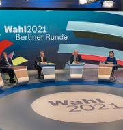 Debatten Berliner Runde Sebastian Gollnow / TT NYHETSBYRÅN