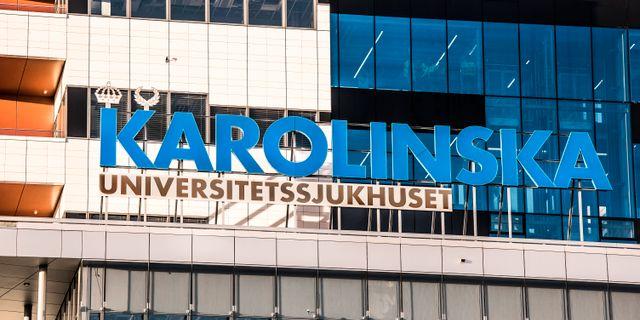 Nya Karolinska. Tomas Oneborg/SvD/TT / TT NYHETSBYRÅN