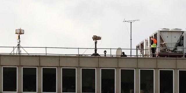 Utredningen av drönarna vid Gatwick. Gareth Fuller / TT NYHETSBYRÅN/ NTB Scanpix