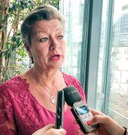 Ylva Johansson.  Wiktor Nummelin/TT / TT NYHETSBYRÅN