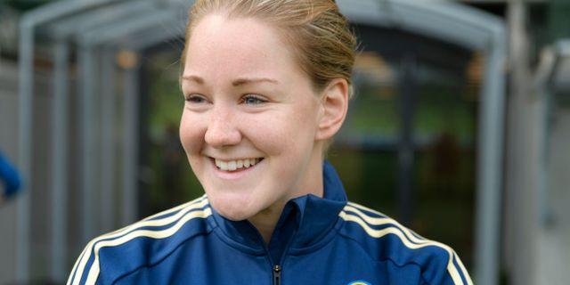 Mia Carlsson.  Jessica Gow/TT / TT NYHETSBYRÅN