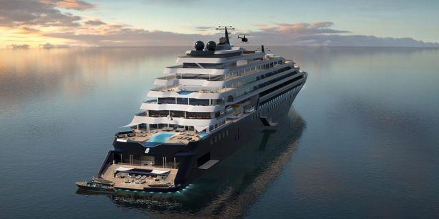 Om två år börjar Ritz-Carlton lansera kryssningar. Ritz Carton Yacht Collection / Tillberg Design of Sweden