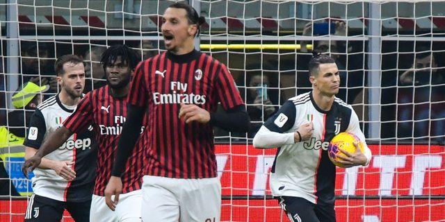 Zlatan Ibrahimovic. ALBERTO PIZZOLI / AFP