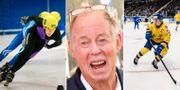 Pichler, arkivbilder på short track och ishockey. TT