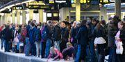 Väntande resenärer. Arkivbild. Johan Nilsson / TT / TT NYHETSBYRÅN