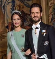 Prinsessan Sofia och prins Carl Philip.  Jonas Ekströmer/TT / TT NYHETSBYRÅN