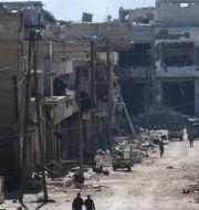 Arkiv. Aleppo. GEORGE OURFALIAN / AFP