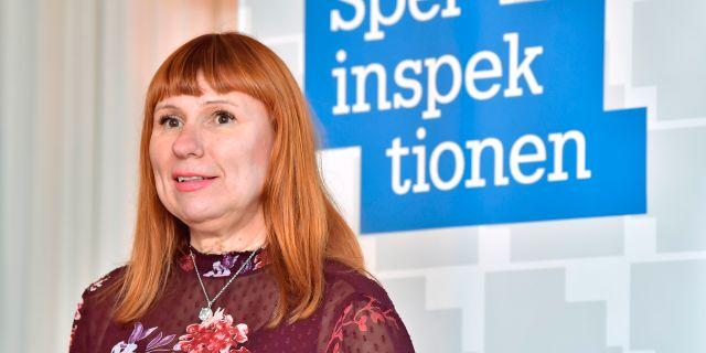 Camilla Rosenberg.  Jonas Ekströmer/TT / TT NYHETSBYRÅN