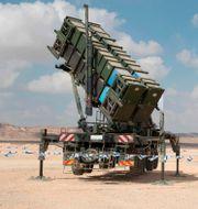Patriotenhet vid en israelisk militärövning. JACK GUEZ / AFP