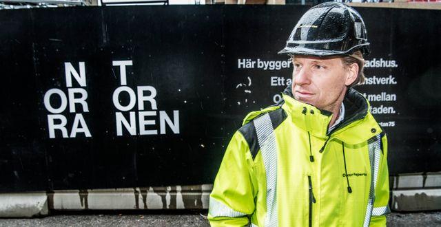 Vd Oscar Engelbert. Tomas Oneborg/SvD/TT / TT NYHETSBYRÅN