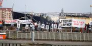 """Nätverket """"Vi står inte ut"""" demonstrerar för ensamkommande unga flyktingar, i samband med EU-toppmötet i Göteborg.  Adam Ihse/TT / TT NYHETSBYRÅN"""