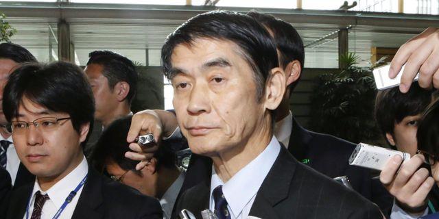 Japansk minister tvingas avga