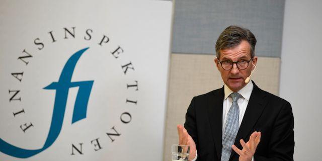 Erik Thedéen, generaldirektör på FI.  Pontus Lundahl/TT / TT NYHETSBYRÅN