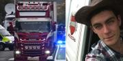 Mo Robinson körde lastbilen där kropparna hittades. TT/Facebook.