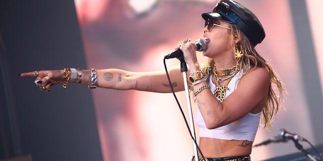 Miley Cyrus. Joel C Ryan / TT NYHETSBYRÅN/ NTB Scanpix